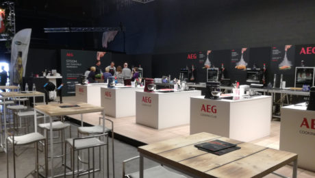 AEG ccoking session Antwerpen Proeft